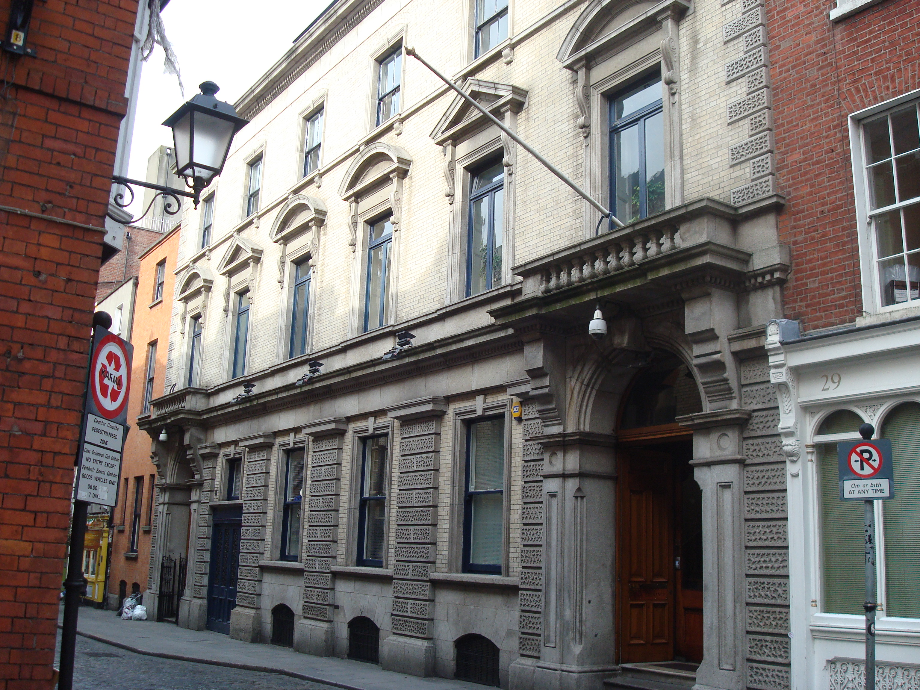Irish Stock Exchange Anglesea Street