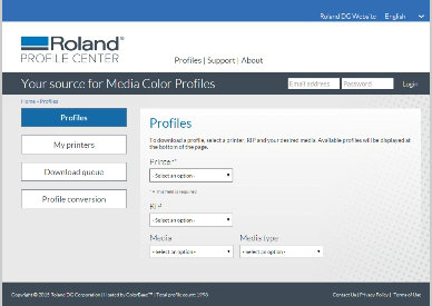 Roland Profile Centre