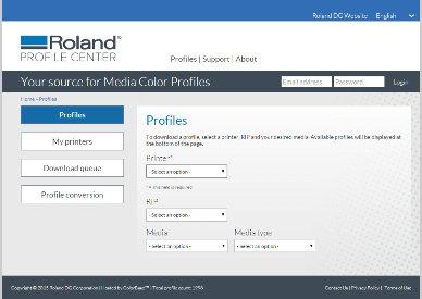 Roland Profile Centre