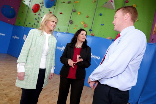 (L-R) Dee Ahearn, CEO, Barretstown; Karen O'Connor, general manager service delivery, Datapac; and Tim O'Dea, director of development, Barretstown