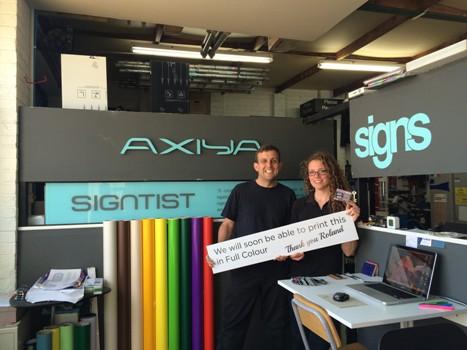 Axiya Signs team