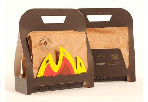 One step BBQ bag by Ariel Anisfeld