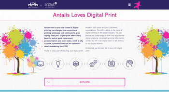 Antalis Digital2Business - Homepage