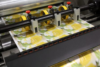 Caslon digital inkjet press printing labels