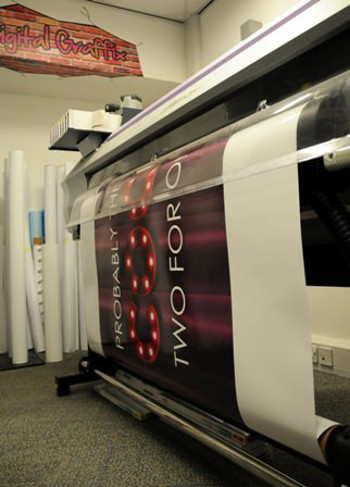 Fast Signs Derby's Mimaki JV33 has stood them in good stead from day one.