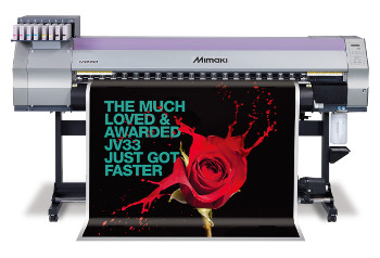 Enhanced Mimaki JV33 offers print companies greater productivity