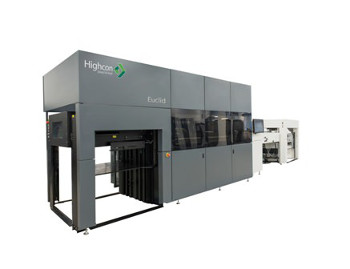 The Highcon Euclid digital cutting and creasing machine