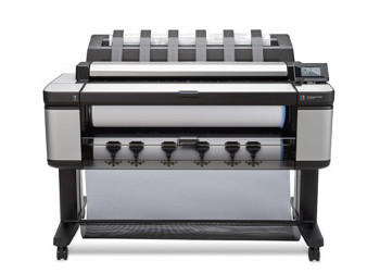 The HP Designjet T3500 Production eMFP features an ultra-fast processor and a high-productivity scanner