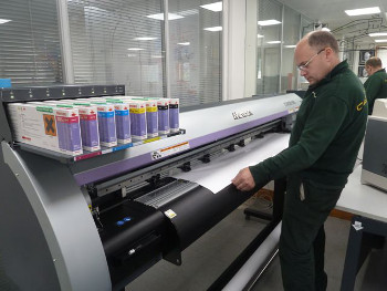 Mimaki technology is already in use in the graphics department at Caterham F1