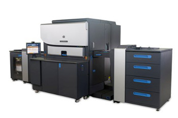 The HP Indigo 7800 Digital Press, demonstrated for the first time in Europe
