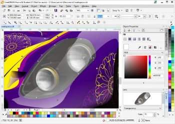 CorelDRAW Home & Student Suite 7 Workspaces